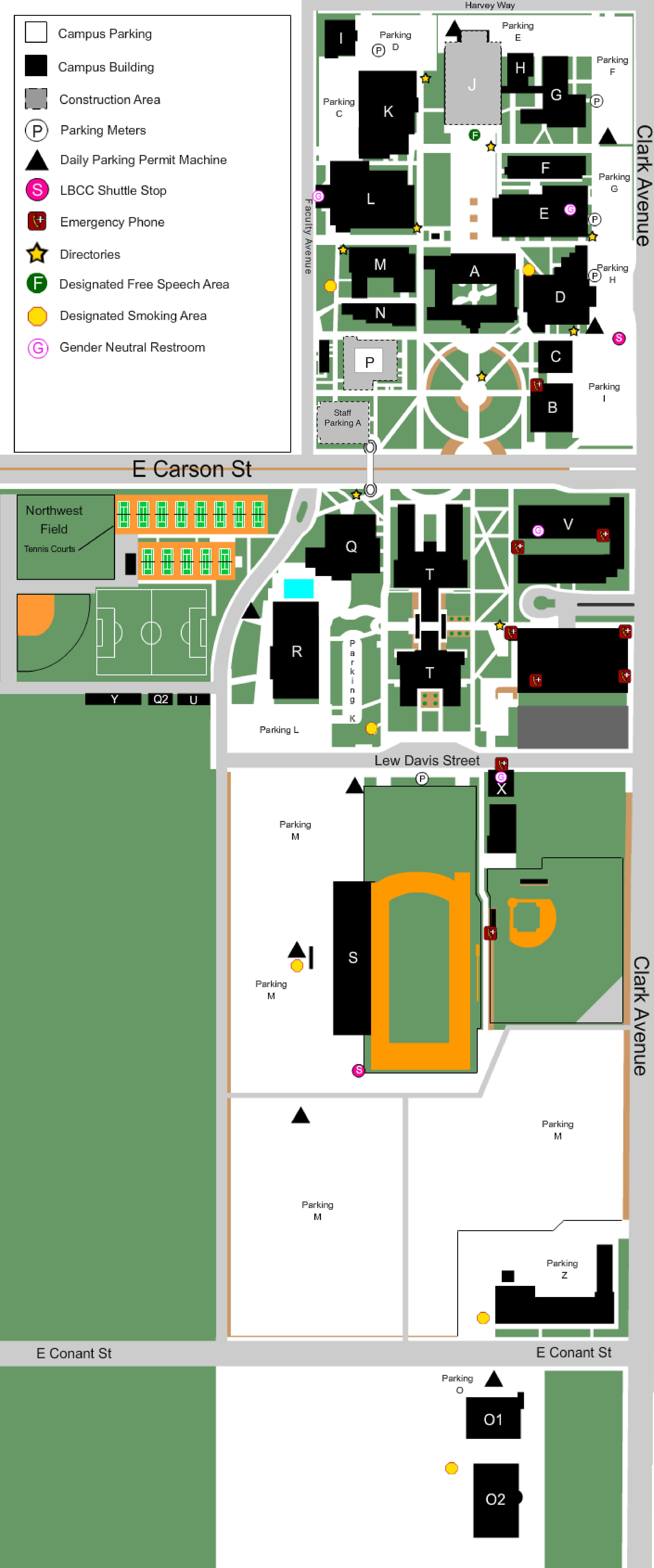lbcc parking permit LBCC Maps